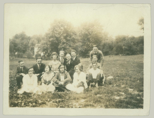 Group in a field