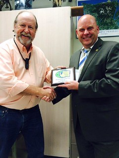Rep. Drew MacEwen receives Legislator of the Year award from the Washington Association of Agricultural Educators