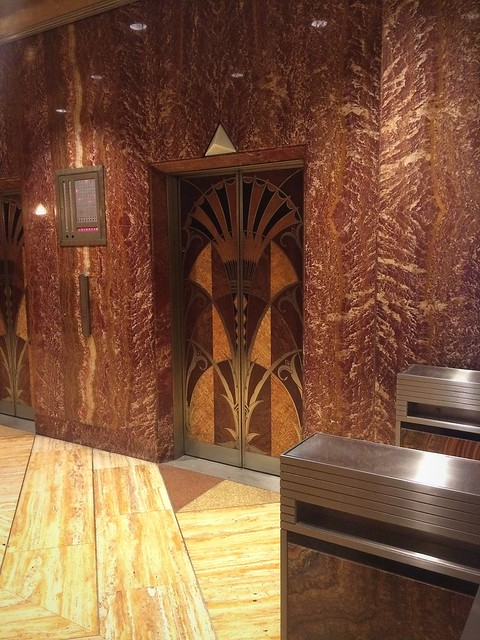 Art Deco elevator