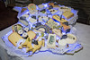 Deux Sevres, France, 05 September 2015: different sorts of French cheeses displayed on a tray shaped as a map of France. One of France culinary and gastronomic specialities is Cheese, there are hundreds types of cheeses in France by CloudMineAmsterdam
