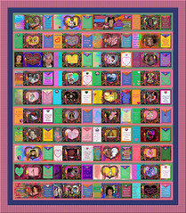 Annual Digital Breast Cancer Awareness Quilt - A group Flickr project