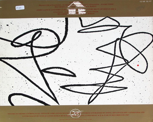 "WIRE AHEAD 12"" EP MAXI-SINGLE VINYL"