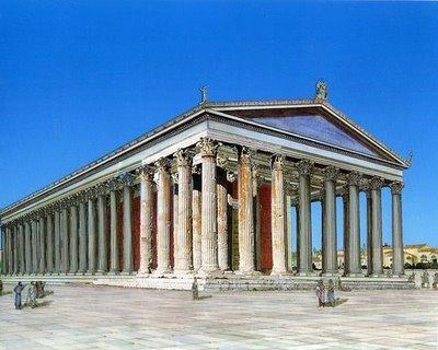 Reconstrucción del Templo de Zeus Olímpico