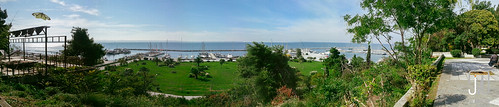 park street panorama nature marina boats outdoor greece thessaloniki gr kalamaria makedoniathraki