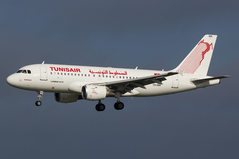 Tunis Air - A319 - TS-IMK (1)