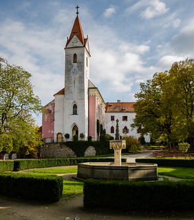 Afbeelding van Bítov. wideangle tschechischerepublik weitwinkel bítov uww jihomoravskýkraj