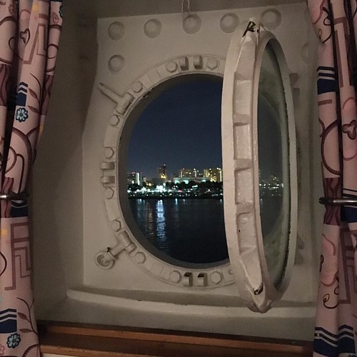 Just discovered that my harbor view porthole opens!