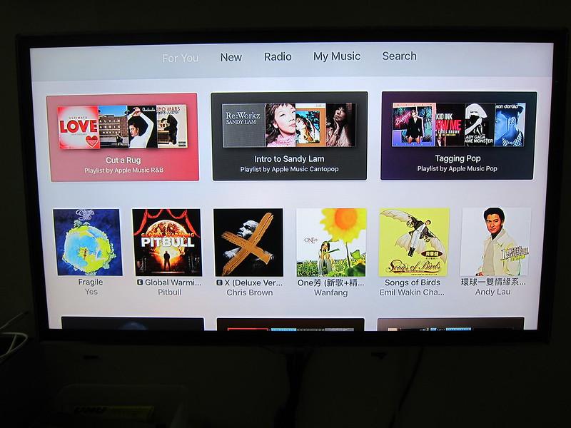 Apple TV (4th Generation) - Music