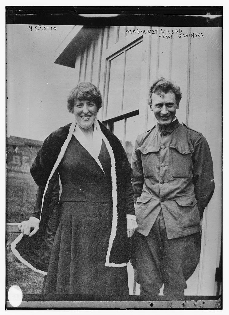 Margaret Wilson, Percy Grainger (LOC)
