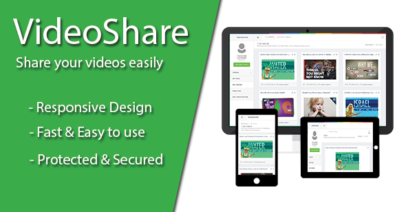 Codecanyon VideoShare v1.0.0.1 - Video Sharing Platform