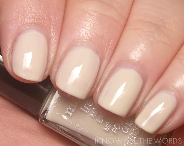 mark nailed it trend mini gel effect nail lacquer- eggnog