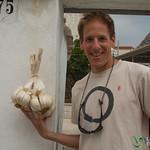 Giant Garlic in Alberobello - Puglia, Italy