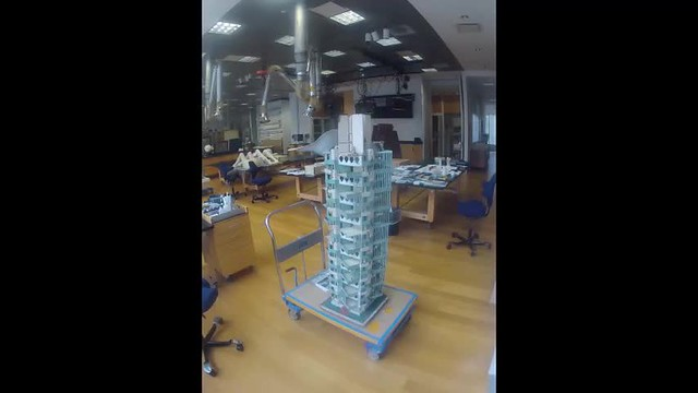 Conserving Frank Lloyd Wright's St. Marks Tower Model
