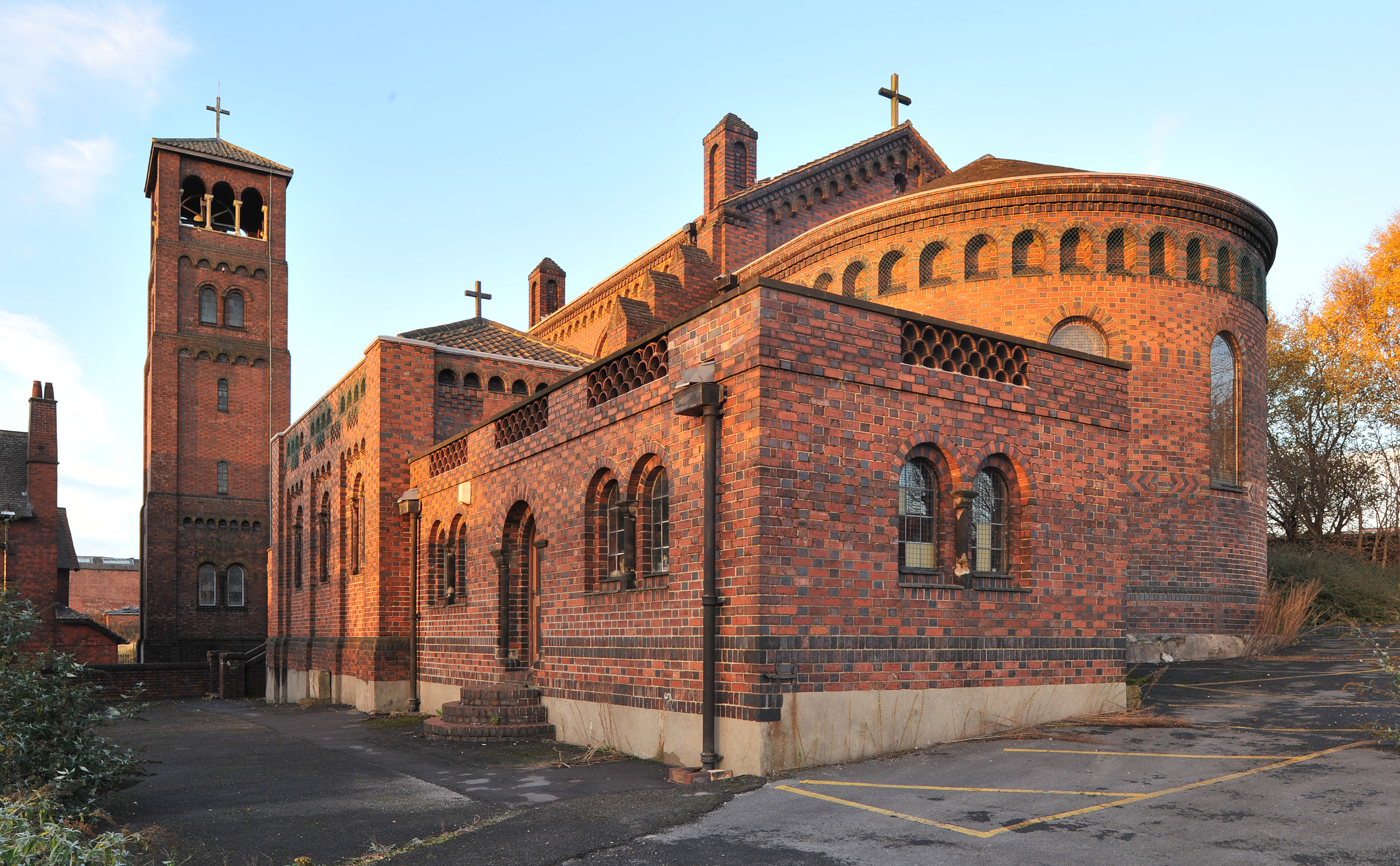 St Joseph's Catholic Church, Burslem, Staffordshire