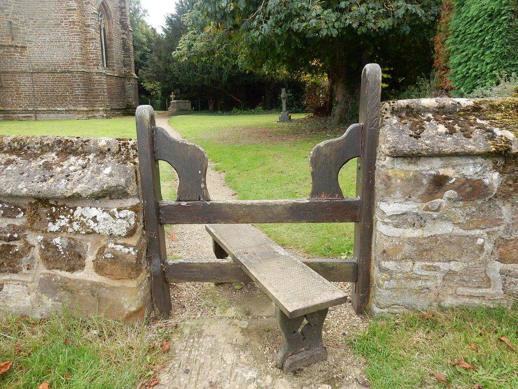 Pretty stile Sandy to Biggleswade Church of St Mary the virgin, Northill