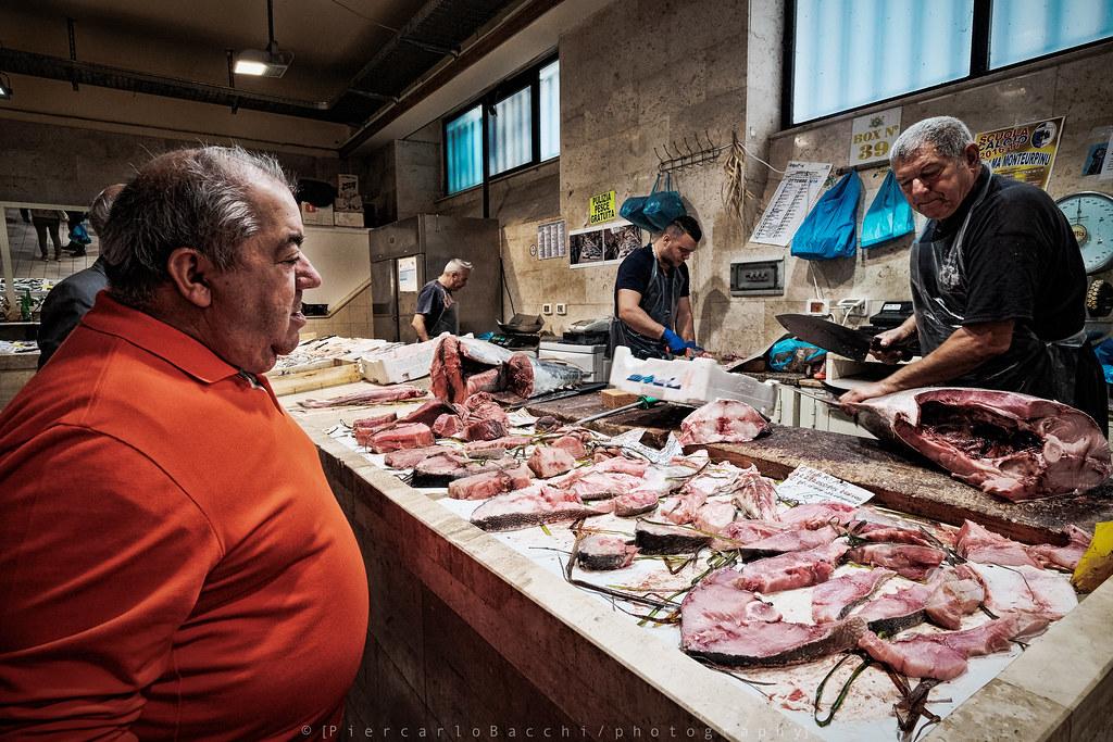 San Benedetto Municipal Market (Cagliari -Sardinia)