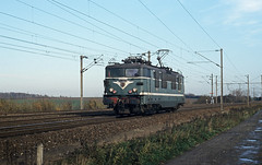 BB 16669 entering the station of Busigny on 13th November 1996