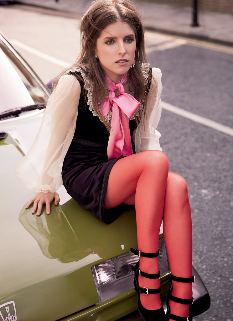Анна Кендрик — Фотосессия для «Marie Claire» UK 2016 – 5