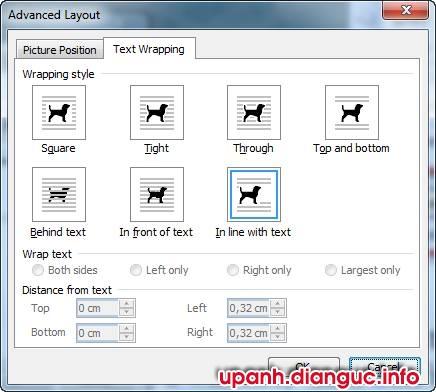 Cách chèn hình ảnh vào file word 2003 2007 2010 2013