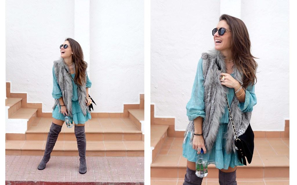 05_vestido_turquesa_y_botas_altas_girses_casual_look_theguestgirl_fashion_blogger_barcelona