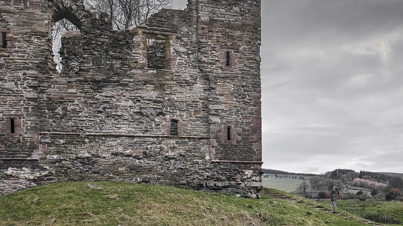 Lizzie Snaps the Castle
