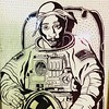 Tupac in space #tupac #2pac #tupacalypse by Suitable 4 Framin'