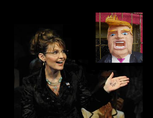 Must-Wince TV: Palin + Trump
