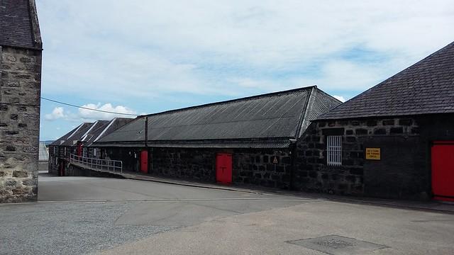 Warehouses at Glenfarclas distillery