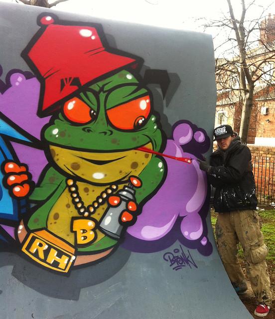 bronkandfrog