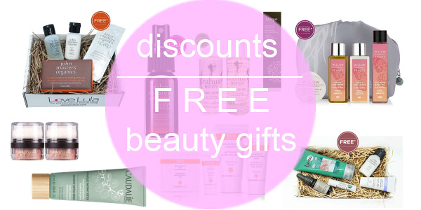 Weekly Discounts and Free Organic Beauty Gifts #35