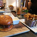 Ground Burger Bar - the burger and fries