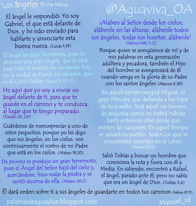 Los ángeles - 10 citas bíblicas