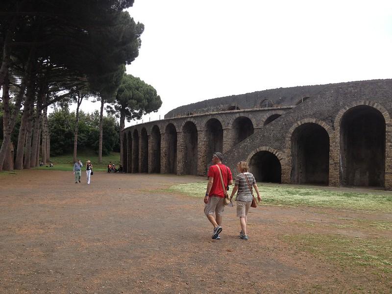 pompei  amfitheatre