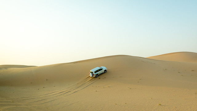 4WD in the dunes