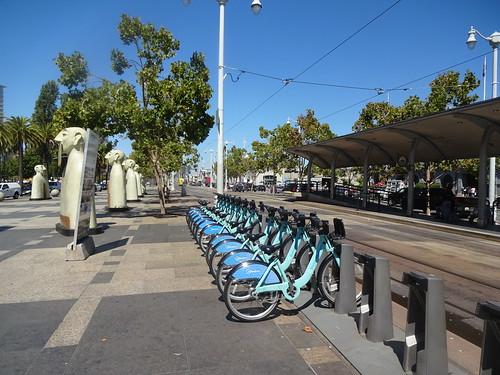 Embarcadero cyklar