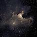 SH2-136 The Ghost Nebula