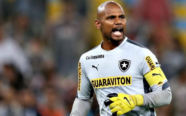 """Jefferson ainda sonha com Sele��o e exalta Botafogo: """"Me abra�ou muito"""""""