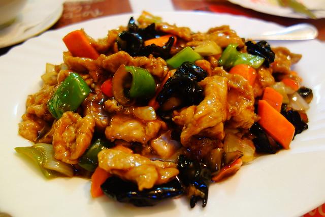 チキンの野菜炒め