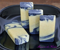 Lemon and Charcoal Bastille Soap
