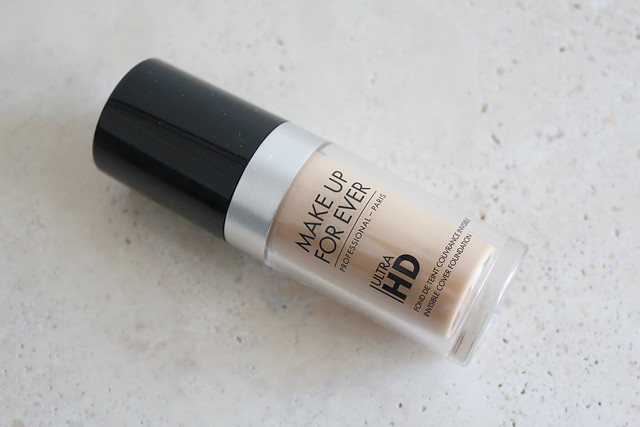 Make Up Forever Ultra HD Invisible Cover Foundation review and swatch