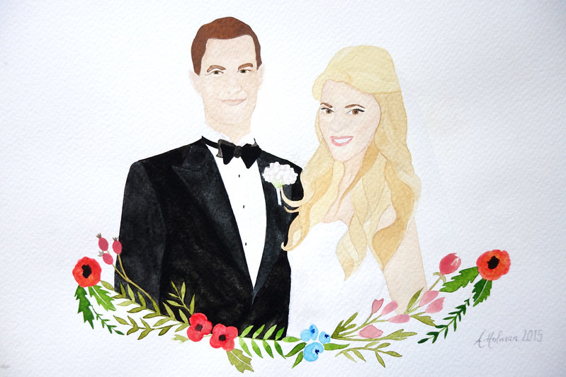 Customised Wedding Portrait