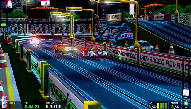 HTR Slot Car Simulation 2
