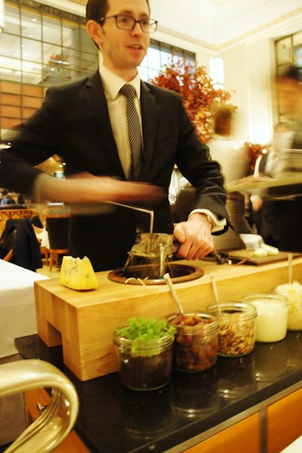 Waldorf Salad: Prepared Tableside