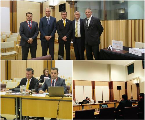 El Senado australiano realiza audiencia sobre relaciones con México
