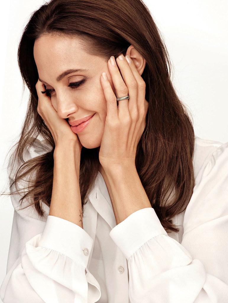 Анджелина Джоли — Фотосессия для «People» 2014 – 1