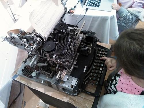 Teletype operator