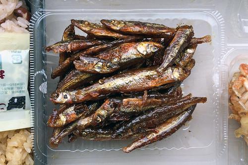 Glazed sardines