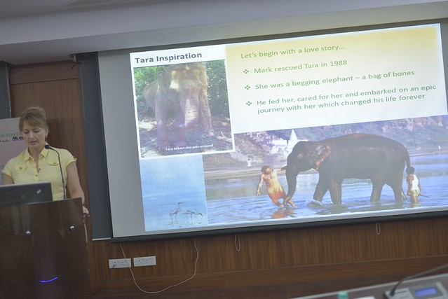 Monica L. Wrobel, Elephant Family, speaks about Elephant Family's works on more space for all and global learning on vertebrate conservation and linear infrastructure development, along with cross border collaborations and skill building.