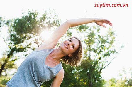 Tập thể dục thường xuyên giúp bạn phòng ngừa suy tim