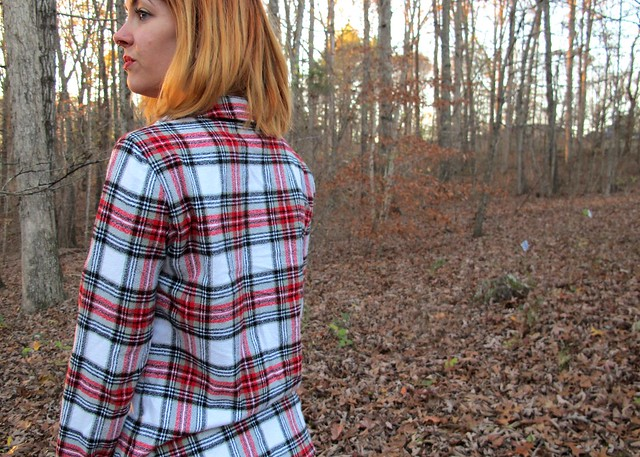 Flannel Carolyn PJs - back